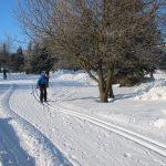 Yogareisen mit yogaleicht winterreise kreuztanne-Schnee-Langlauf